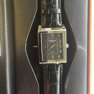 Stuhrling Original Accessories - Stuhrling Original Leather Watch - Water Resistant